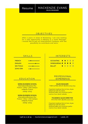 Mycvfactory-original resume-171-ENG