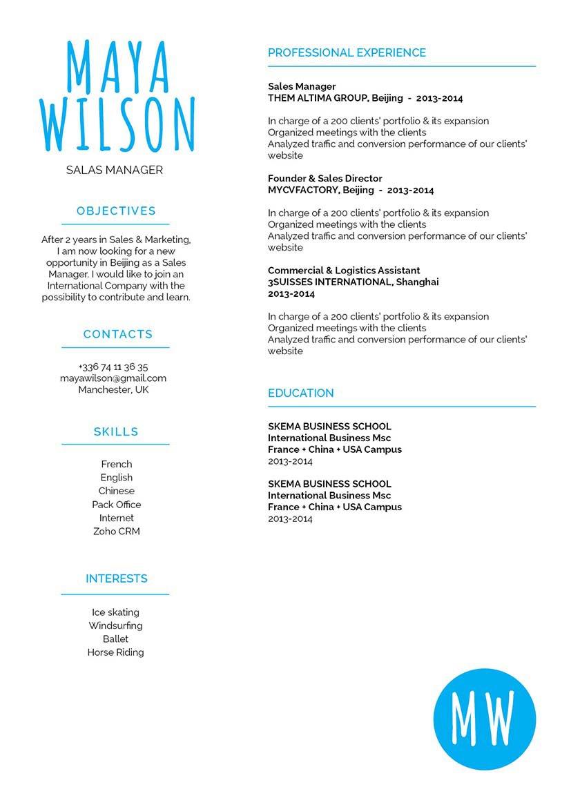 Mycvfactory-modern resume-177-ENG