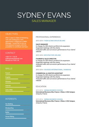 Mycvfactory-original resume-182-ENG