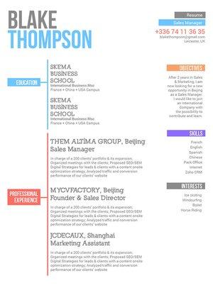 Mycvfactory-modern resume-190-ENG