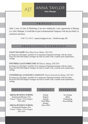 Mycvfactory-resume templates-223-ENG