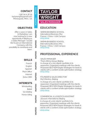 Mycvfactory-modern resume-257-ENG