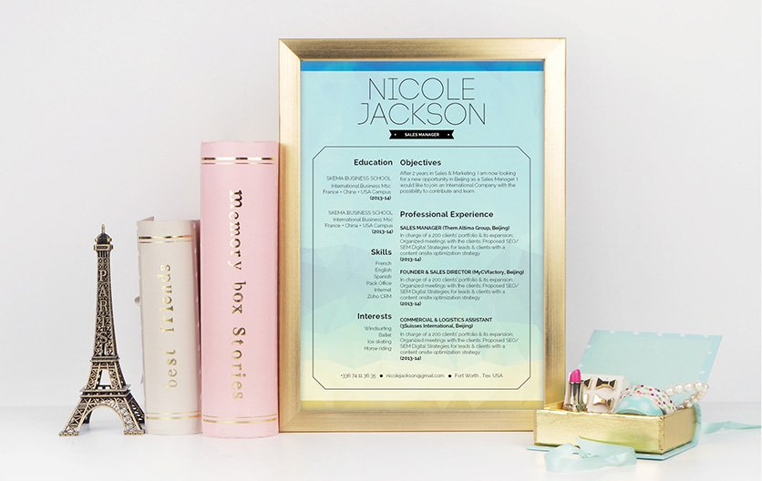 Mycvfactory-original resume-314-ENG