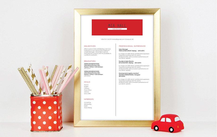 Mycvfactory-resume templates-175-ENG