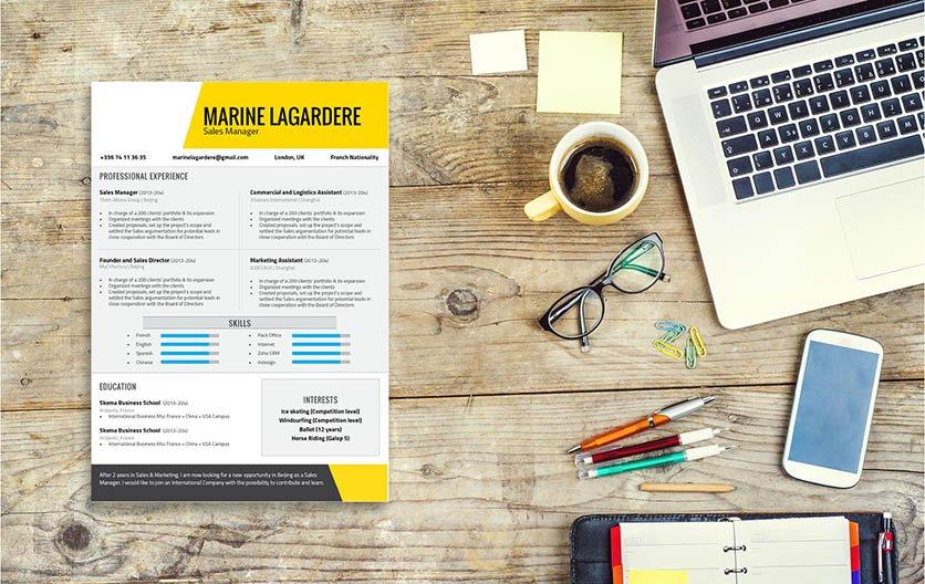 Mycvfactory-modern resume-66-ENG