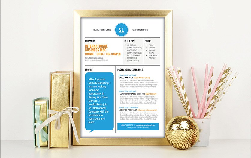 Mycvfactory-modern resume-104-ENG