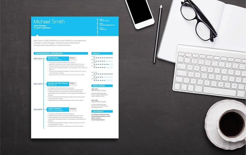Mycvfactory-modern resume-04-ENG