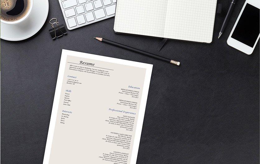 Mycvfactory-original resume-212-ENG