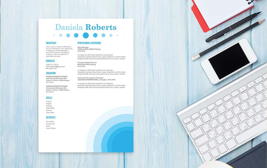 Mycvfactory-modern resume-174-ENG