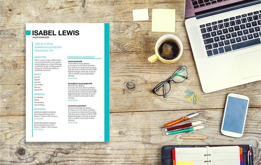 Mycvfactory-resume templates-219-ENG