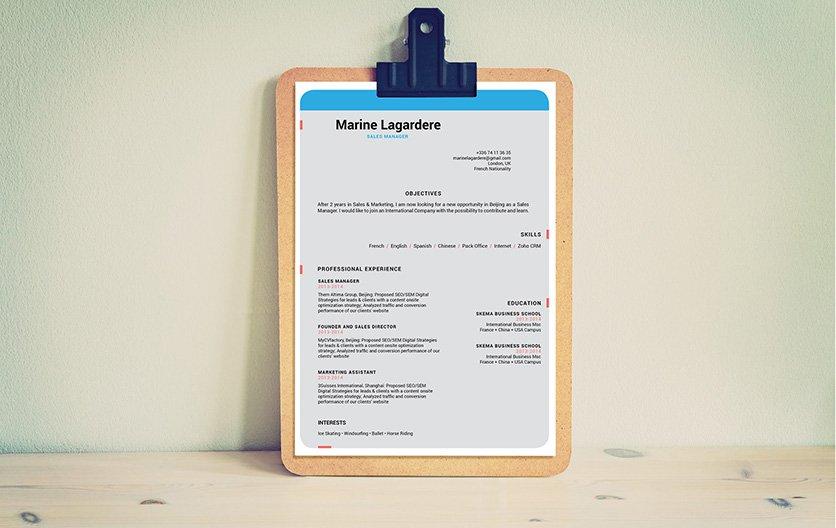 Mycvfactory-modern resume-85-ENG