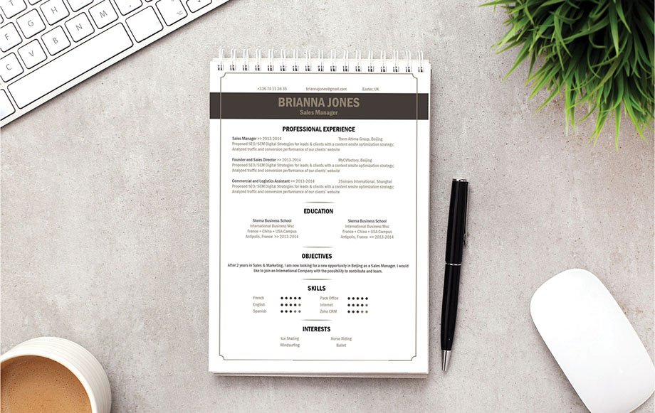 Mycvfactory-original resume-152-ENG