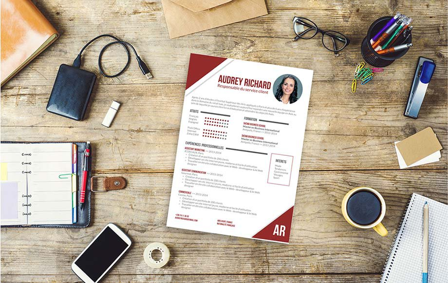 comment faire un cv exemple