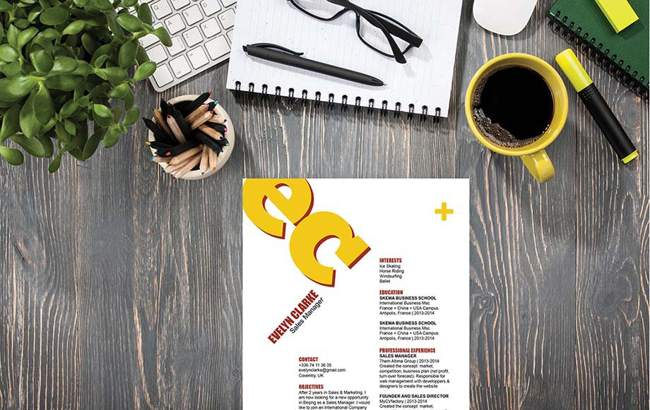 Mycvfactory-original resume-168-ENG