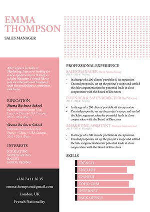 Mycvfactory-modern resume-103-ENG