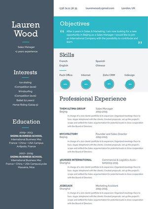 Mycvfactory-modern resume-108-ENG