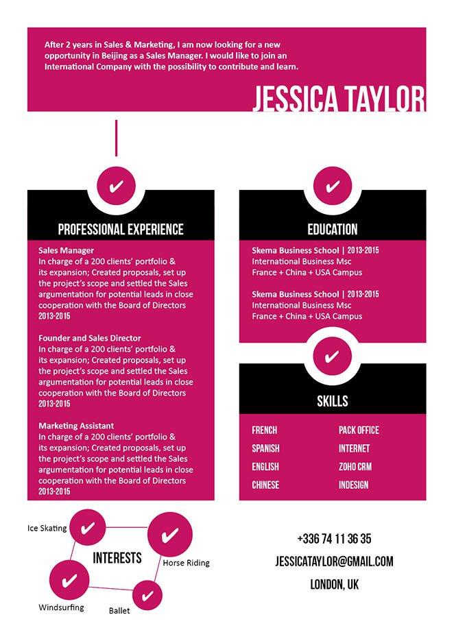 Mycvfactory-original resume-111-ENG