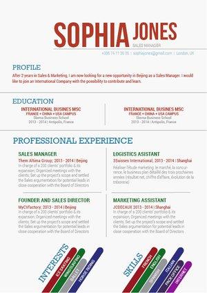 Mycvfactory-modern resume-114-ENG