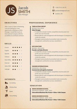 Mycvfactory-original resume-124-ENG