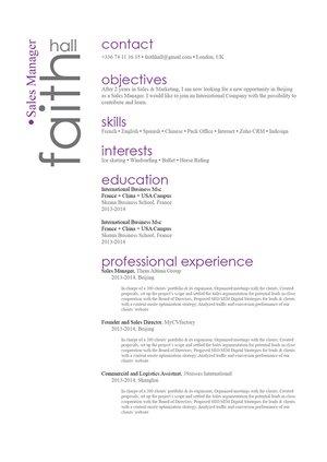 Mycvfactory-original resume-132-ENG