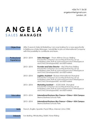 Mycvfactory-modern resume-134-ENG
