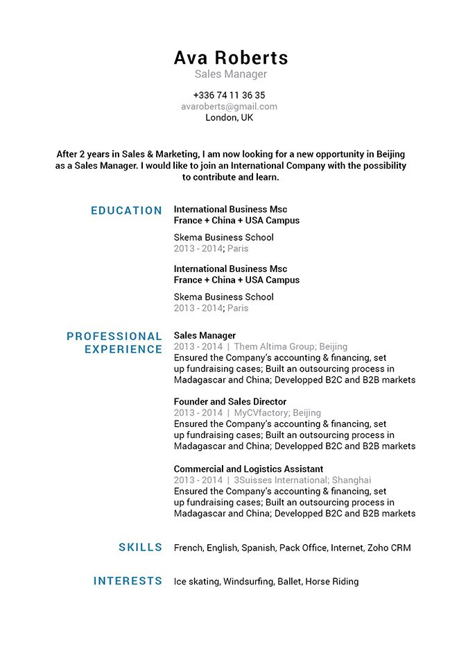 Mycvfactory-resume templates-135-ENG