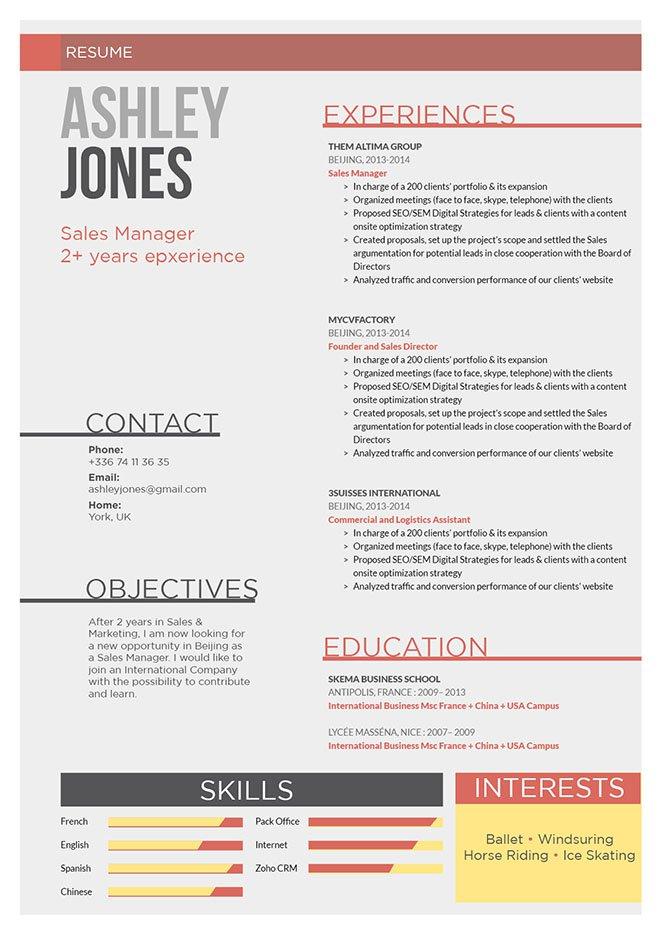 Mycvfactory-original resume-13-ENG