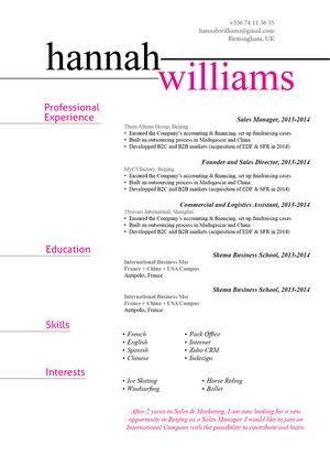 Mycvfactory-original resume-147-ENG