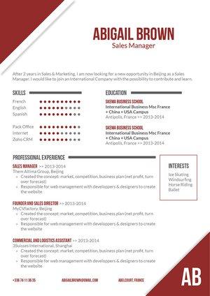 Mycvfactory-modern resume-154-ENG