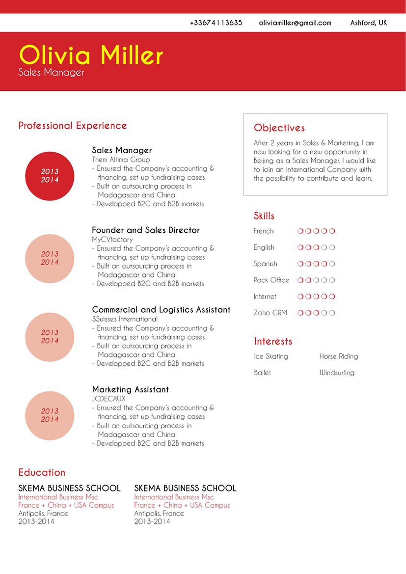 Mycvfactory-modern resume-156-ENG