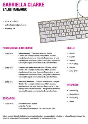 Mycvfactory-original resume-165-ENG