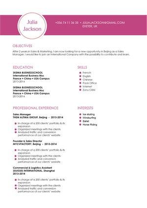 Mycvfactory-modern resume-173-ENG