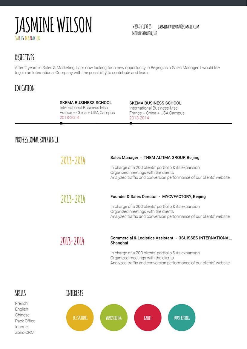 Mycvfactory-original resume-178-ENG