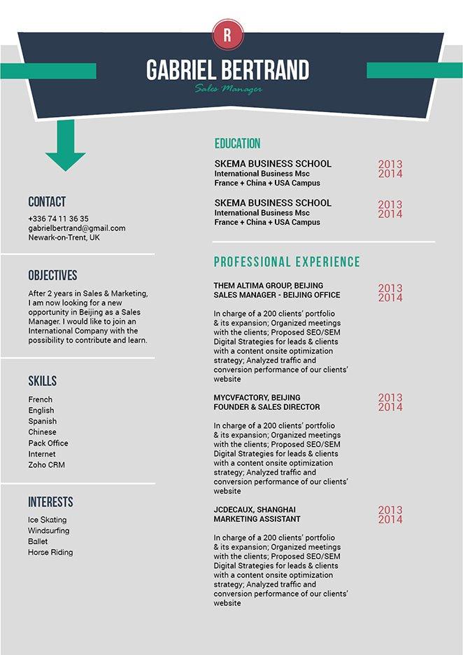 Mycvfactory-original resume-194-ENG