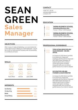 Mycvfactory-original resume-195-ENG