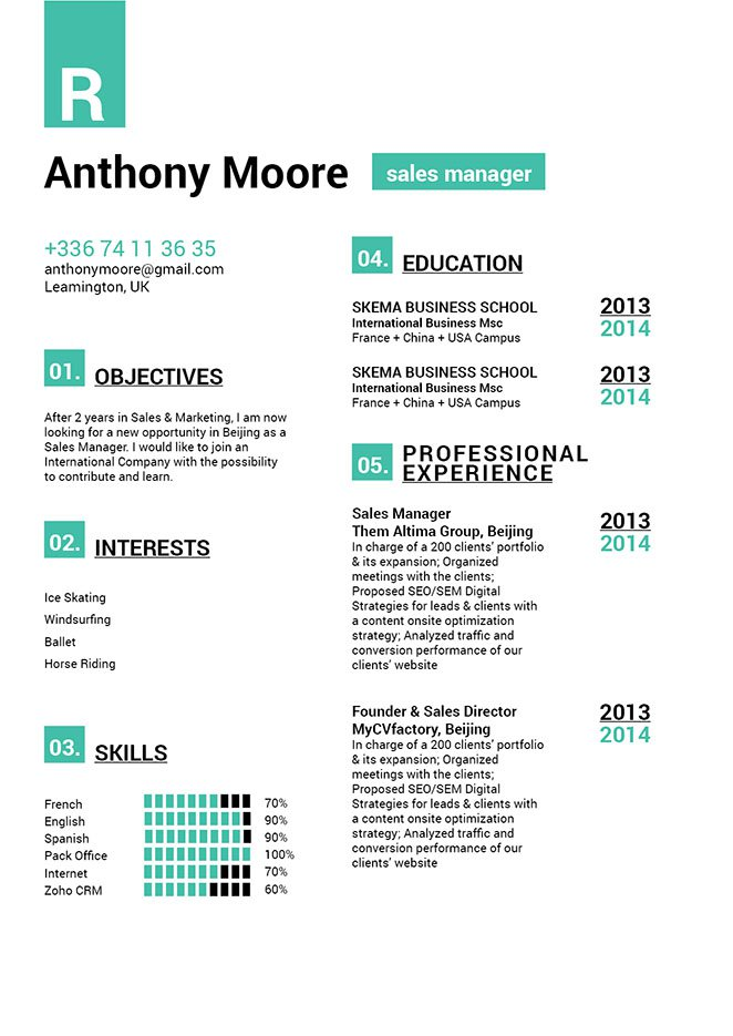 Mycvfactory-modern resume-198-ENG