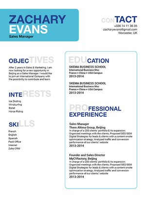 Mycvfactory-modern resume-201-ENG