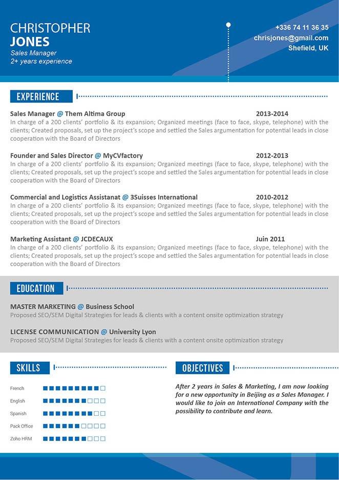 functional resume hard working resume mycvfactory