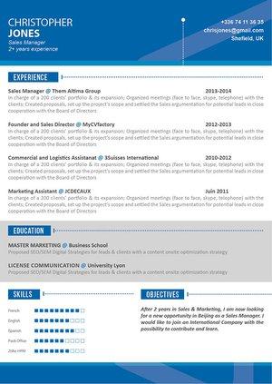 Mycvfactory-modern resume-20-ENG