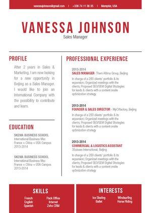 Mycvfactory-modern resume-226-ENG