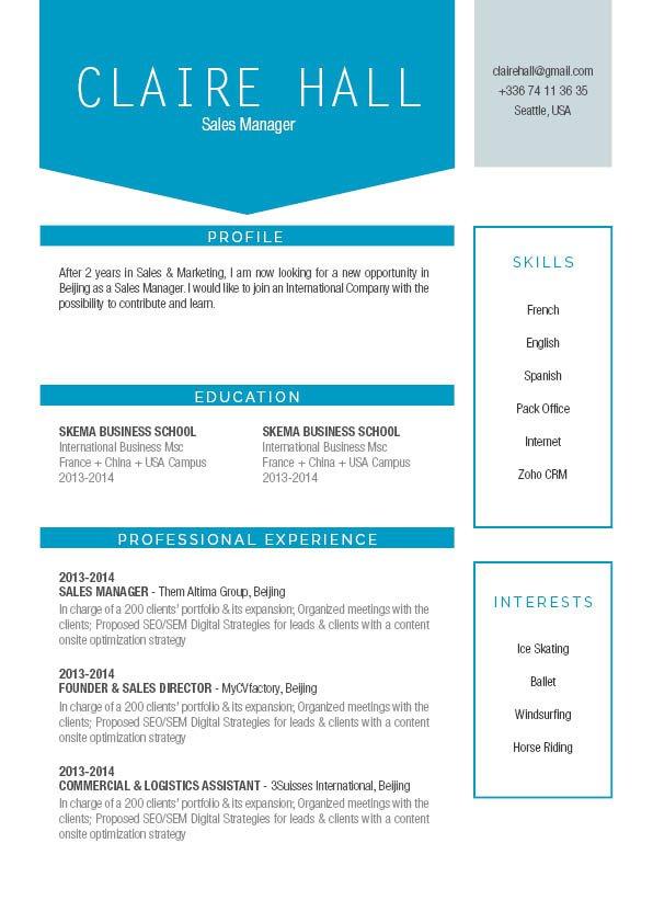 Mycvfactory-modern resume-229-ENG