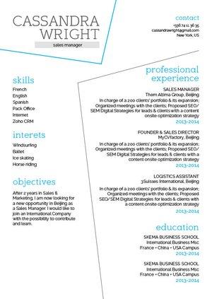 Mycvfactory-original resume-235-ENG
