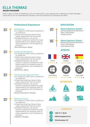 Mycvfactory-modern resume-23-ENG