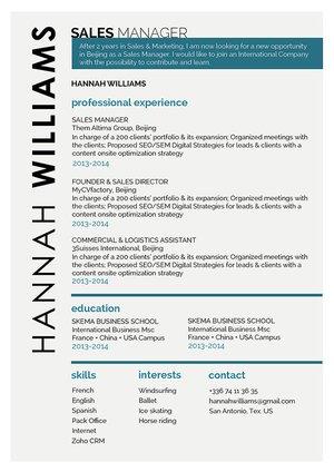 Mycvfactory-modern resume-240-ENG