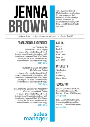 Mycvfactory-modern resume-244-ENG