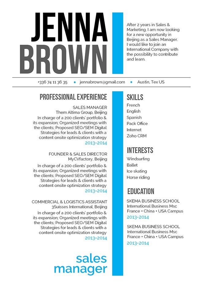 simple resume format bluffed resume mycvfactory - Resume Template Tex