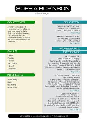 Mycvfactory-modern resume-248-ENG