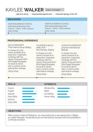 Mycvfactory-original resume-249-ENG