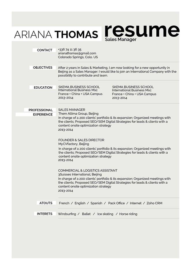 Mycvfactory-resume templates-251-ENG
