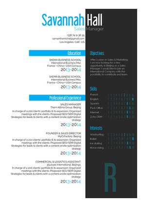 Mycvfactory-original resume-254-ENG